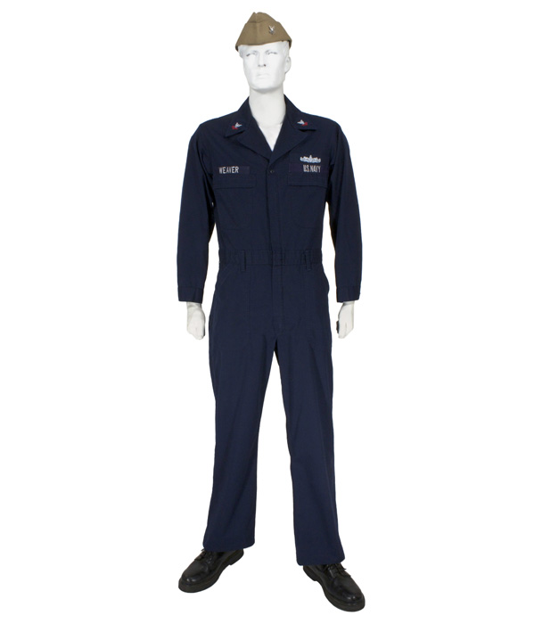 Enlisted Navy Uniform - Mega Dildo Insertion