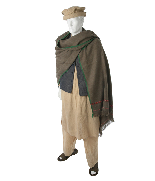 Afghani Man Eastern Costume A Motion Picture Wardrobe