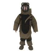 Explosive Ordnance Disposal Protective Suit.