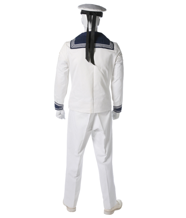 german navy enlisted dress white eastern costume a