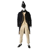 British Royal Navy Warrant Officer's Undress Uniform