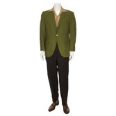 Olive Wool Day Outfit