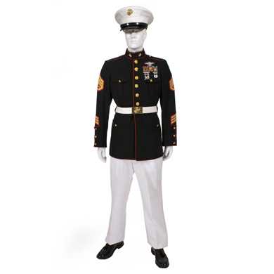 "USMC Enlisted Blue-White Dress ""A"" (Summer) 