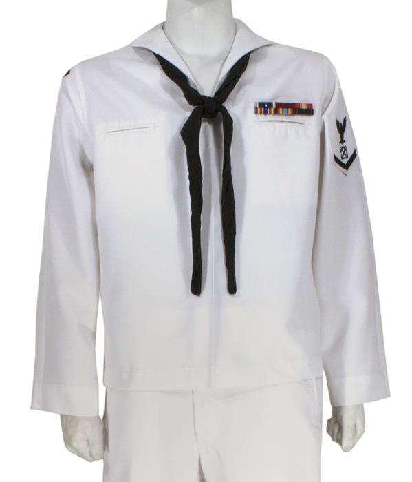 Usn Enlisted Service Dress White Uniform Eastern Costume A