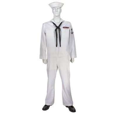 Service dress whites enlisted