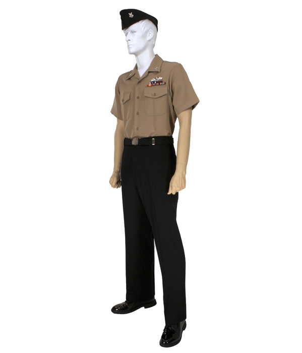 Navy Uniforms: Navy Enlisted Khaki Uniform