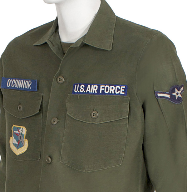 Air Force Fatigue As Worn In Vietnam Eastern Costume A