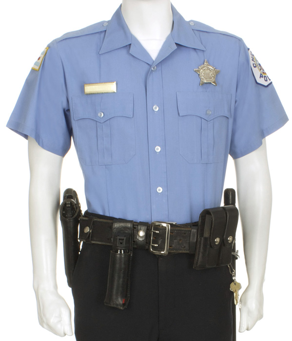 Chicago Police Officer With Ball Cap Eastern Costume A