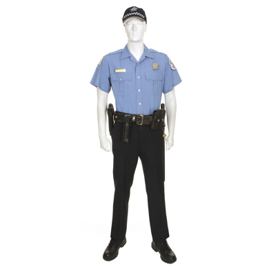 Chicago Police Officer with Ball Cap | Eastern Costume : A Motion