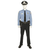 Chicago Police Officer with Service Cap