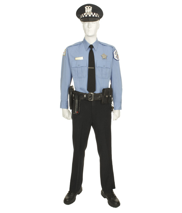 Chicago Police Officer With Service Cap Eastern Costume