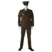 Summer dress uniform. Sergeants, soldiers, students and military constructors.
