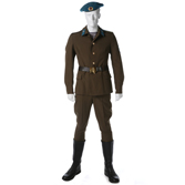 Summer service uniform. Airborne Troops soldiers and students