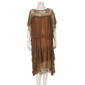 Cocoa Brown Evening Dress