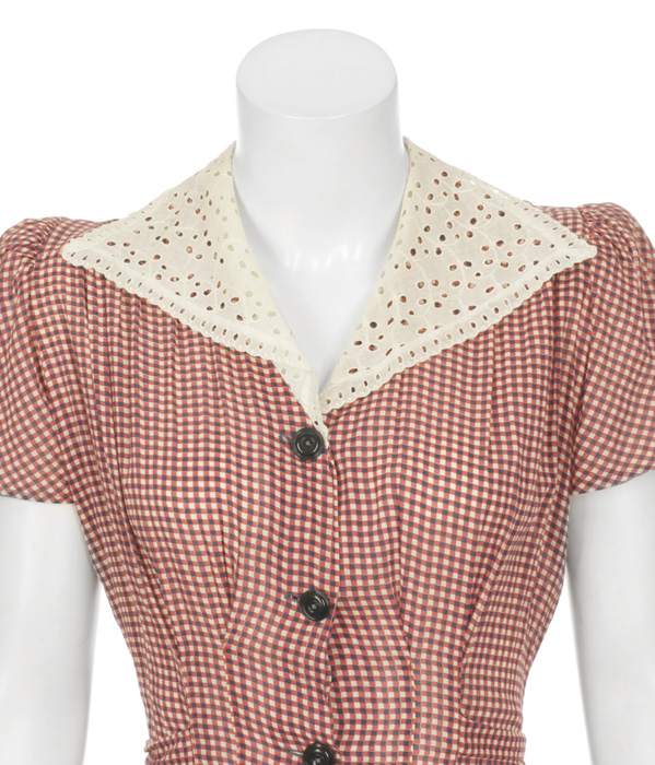 Woman's Red and White Day Outfit