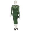 Woman's Green Day Outfit-3