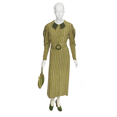 Woman's Green Day Dress