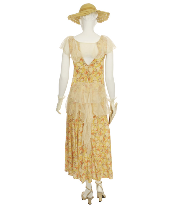 Woman's Yellow Day Outfit