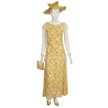 Woman's Yellow Day Outfit-1