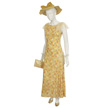 Woman's Yellow Day Outfit-2