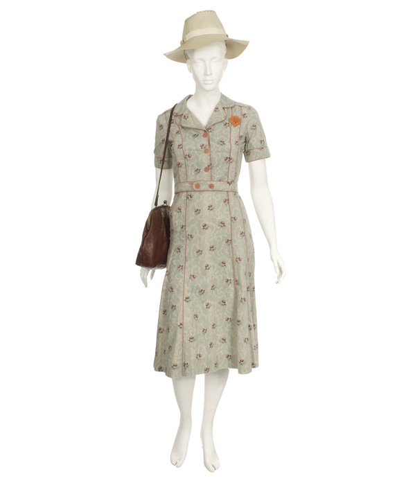 Woman's Floral Day Dress