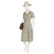 Woman's Floral Day Dress-2