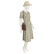 Woman's Floral Day Dress-3