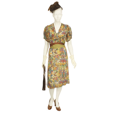 Woman's Multi Colored Day Dress