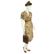 Woman's Multi Colored Day Dress-2