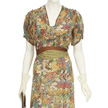 Woman's Multi Colored Day Dress-4
