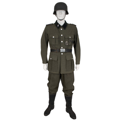 Waffen Ss Soldat Soldier Eastern Costume A Motion