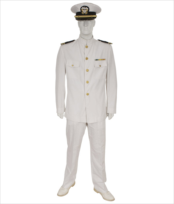 Navy Officer Uniforms White